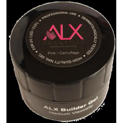 ALX Builder Gel Ροζ/Camuflage 5 ml (Μέτρια Ρευστότητα)
