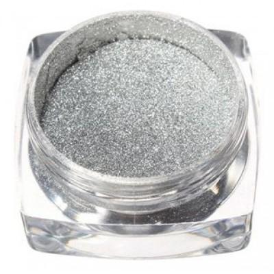Mirror Powder Ασημί Μεταλλική