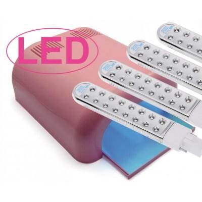 Λάμπα Νυχιών UV με 64 LED Επαγγελματική Ροζ (Τύπος 2)