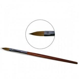 Πινέλο ξύλινο Φυσική τρίχα No8 Ακρυλικού