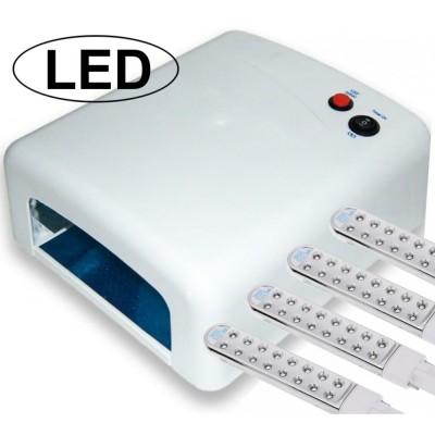 Λάμπα Νυχιών UV με 64 LED Επαγγελματική Λευκή (Τύπος 1)