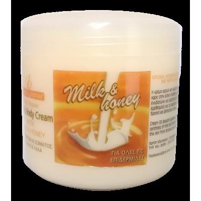 Κρέμα Σώματος με Μέλι και Γάλα
