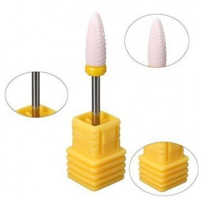 Κεραμική Φρέζα Κωνικού Σχήματος Κίτρινο (για αφαίρεση)