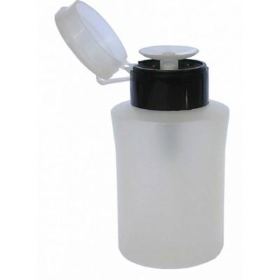 Μπουκαλάκι 220 ml Μαύρο με Ασφάλεια και Αντλία