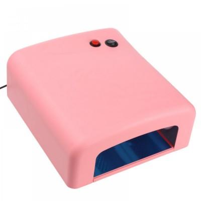 Λάμπα Νυχιών UV 36 Watt Επαγγελματική Ροζ (Τύπος 1)
