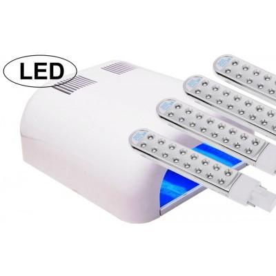 Λάμπα Νυχιών UV με 64 LED Επαγγελματική Λευκή (Τύπος 2)