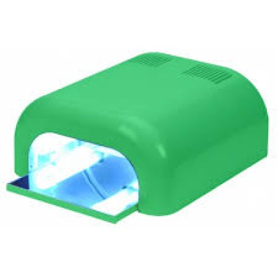 Λάμπα Νυχιών UV 36 Watt Επαγγελματική Πράσινη ( τύπος 2)